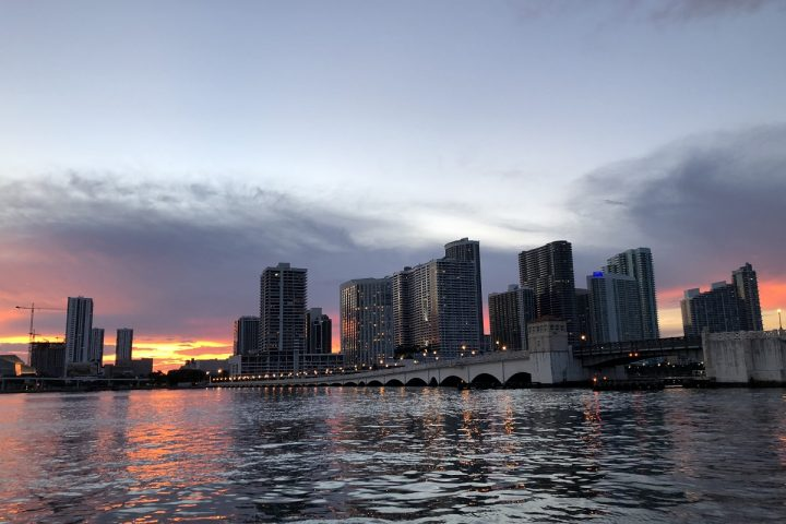 Miami Rent Boat | Downtown Miami from Biscayne Bay