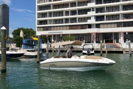 Boat Rentals Biscayne Bay in Miami